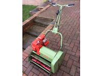 Hayter 20 petrol cylinder mower. Great condition