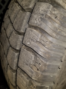 Winter tires on alloy rims - GM truck / SUV