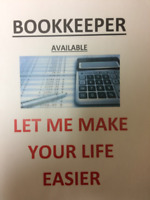 Bookkeeper - Let me help you!