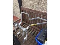 Aluminium ladder stand off v shape