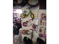 Balance bikes / berg / gokarts