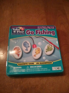 Magnetic Go Fishing game.