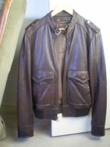 "Wilson Men,s  "" Leather Jacket """