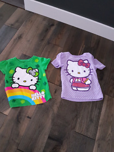 Size 3t Hello kitty t-shirts