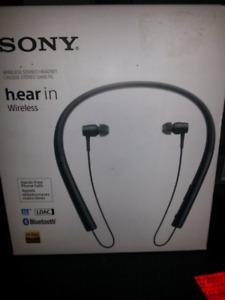 Brand New Sony Bluetooth Wireless Headphones