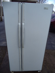 MAYTAG SIBE BY SIDE FRIDGE IN GOOD WORKING ORDER