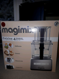 Magimix Cuisine 4200XL Red