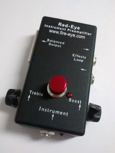 Red-Eye Acoustic Instrument Preamp