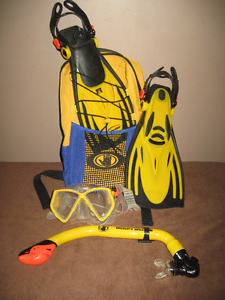 Body Glove JR - Snorkel & Mask set with storage bag