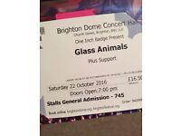 GLASS ANIMALS CONCERT 22/10/16 BRIGHTON