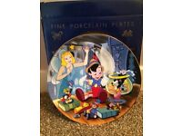 Kenley's collectable Disney plate- Pinocchio