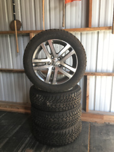 "Winter Tires on ""OEM"" VW alloy wheels"