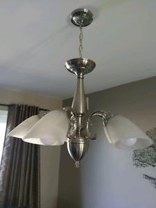 5 light chandalier