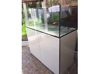 Brand new condition 4ft marine/tropical fish tank with setup (delivery/Installation)