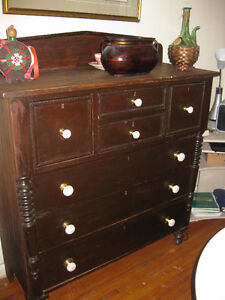 RUSTIC DRESSER/SIDEBOARD  FROM THE LATE 1800'S-EARLY 1900'S