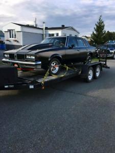 Oldsmobile cutlass 1985 possibilité d'échange
