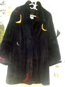Manteau en castor rasé