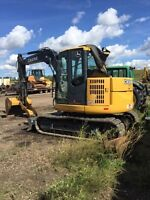 85D excavator for hire or rent