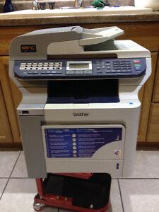 Brother colour laser printer.  Model MFC-9840CDW.