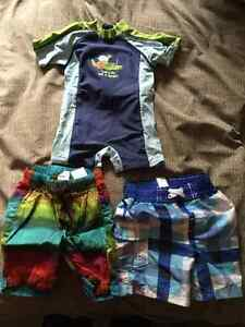 Baby bathing suits (boy)