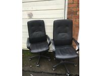 OFFICE CHAIRS £10 EACH 2 LEFT ** FREE DROP OFF FRIDAY NIGHT **