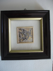 """.925 Sterling Silver Picture of Venice, Italy 5"""""""