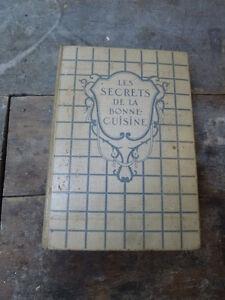 Livre de recettes de Soeur Edith Sainte-Marie 1928