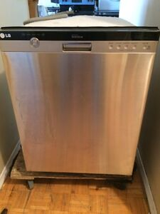 Brand new LG direct drive stainless steel dishwasher
