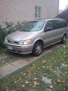 1998 Oldsmobile Silhouette Minivan, Van