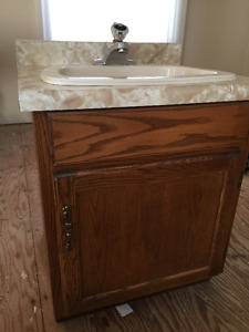 2 X Sink and cabinets ( $50 for both )