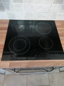 Zanussi electric glass hob