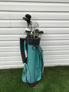 Assorted Golf Clubs and Bag!