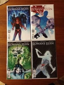 Rowans Ruin - 4 Part Comic Mini Series
