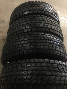 Four 255/70/16 truck winter tires