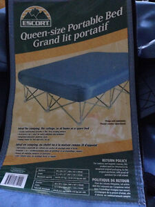 Escort Queen Sized Portable Bed