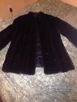 Genuine Mink Coat For Sale