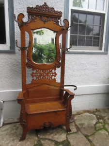 Exceptional Antique (c1900) Hall Stand 100% Original!