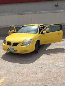 2009 Pontiac G5, Safetied