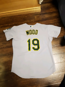 Authentic game worn/issued baseball jerseys
