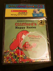 Clifford - Clifford's Happy Easter (Book With Audio CD)