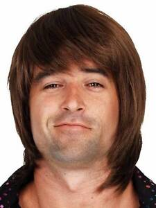 MENS 1970s 1980S DISCO SHAG WIG   VERY NATURAL LOOKING Glandore Marion Area Preview