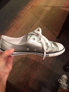 METALLIC CONVERSE SNEAKERS