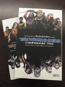 WALKING DEAD Compendiums No.1 and No.2
