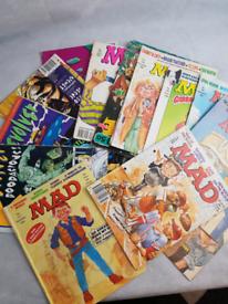 Bundle of MAD & Revolver comics/mags!