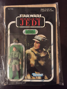 Rare Vintage Star Wars Carded Figures