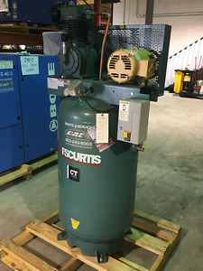 New 5HP Curtis Compressor HEAVY DUTY 2 STAGE W/MAG STARTER