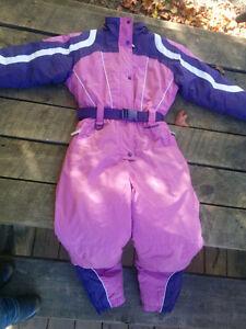 Size 10/12 one piece snow suit