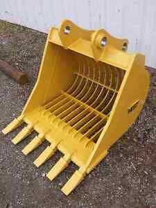 WGT – Excavator: Rakes, Rippers, Buckets, & Couplers Kawartha Lakes Peterborough Area image 10
