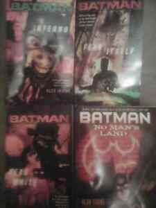 8 superhero books for sale.