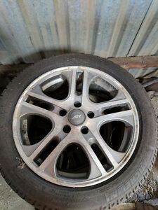 Winter tires, Michelin X-ice with Rims Kitchener / Waterloo Kitchener Area image 2